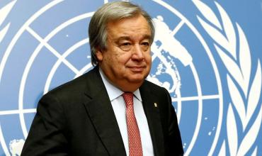 António Manuel de Oliveira Guterres, secretary-general of the United Nations