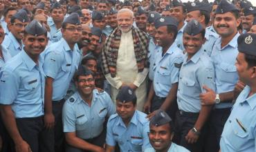 Narendra Modi Indian Air Force